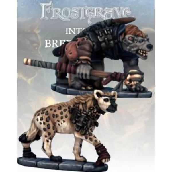 Frostgrave - Gnoll Tracker & War Hyena