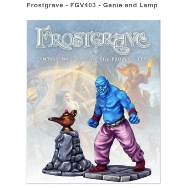 Frostgrave - Genie & Lamp