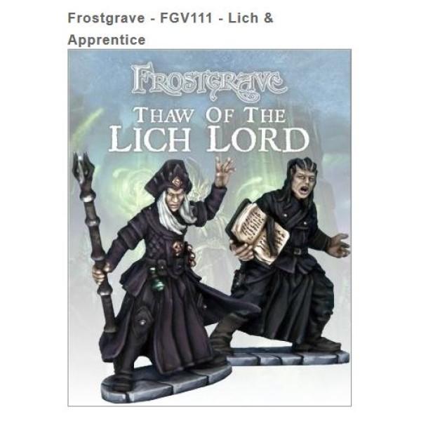 Frostgrave - Liche and Apprentice