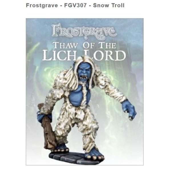 Frostgrave - Snow Troll