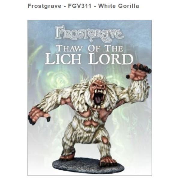 Frostgrave - White Gorilla
