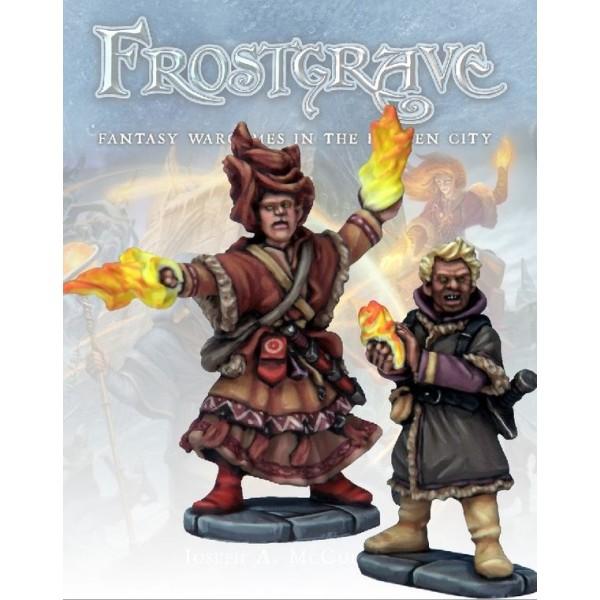 Frostgrave - Elementalist and Apprentice