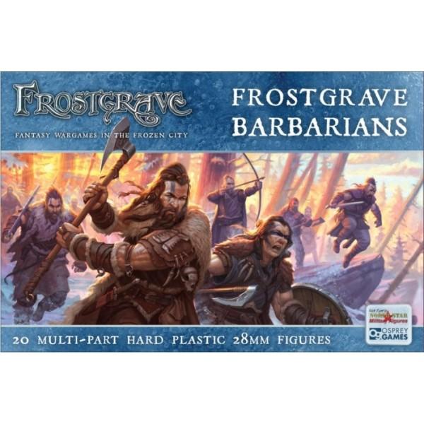 Frostgrave - Plastic Barbarians Boxed Set