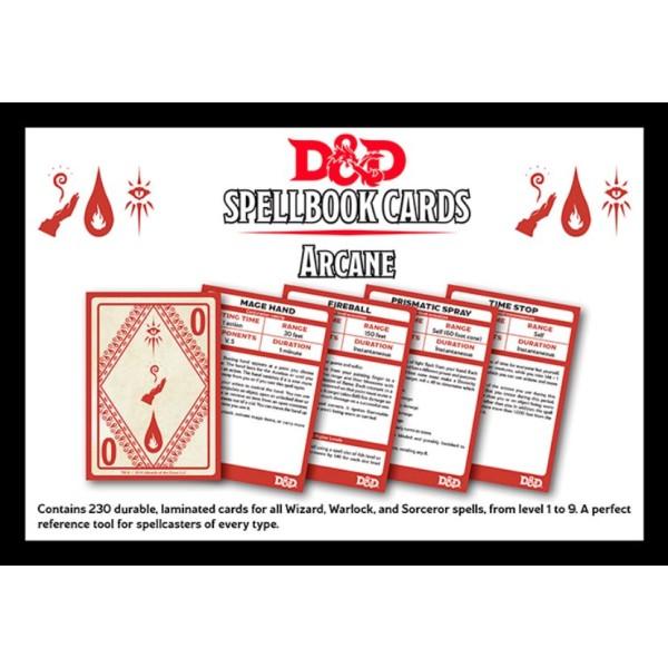 d d spellbook cards arcane deck online tabletop wargames supplies tabletop empires. Black Bedroom Furniture Sets. Home Design Ideas