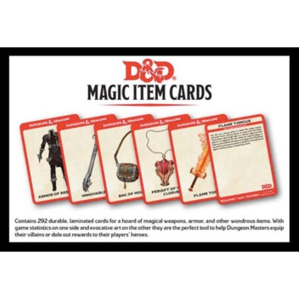 D&D - Spellbook Cards - Magic Item Card Deck