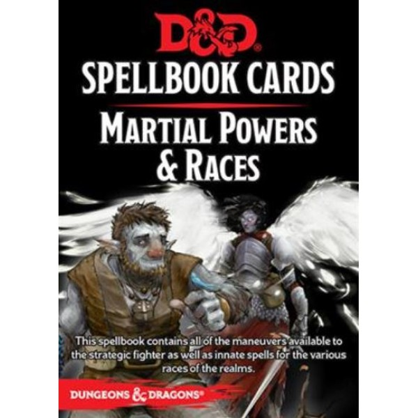 D&D - Spellbook Cards - Martial Powers & Races