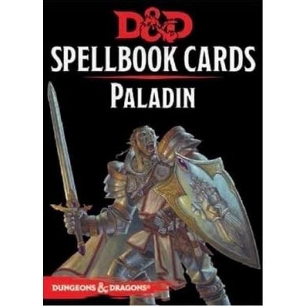 D&D - Spellbook Cards - Paladin Deck