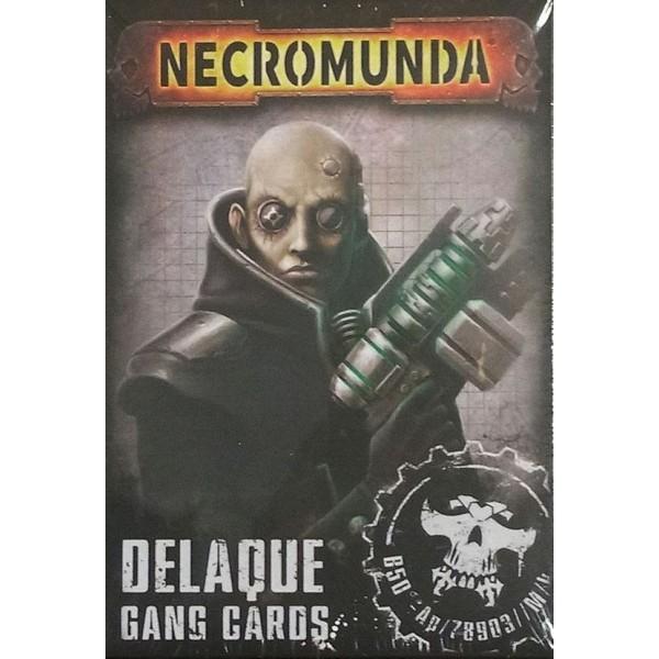 Necromunda - Delaque Gang Cards