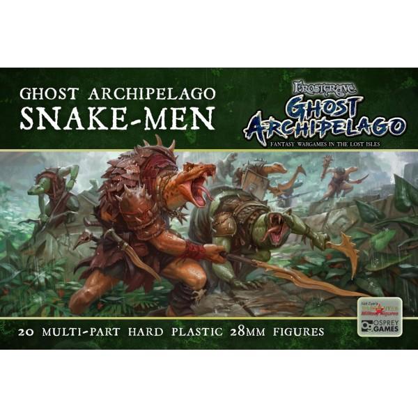 Frostgrave - Ghost Archipelago - Snake-men - Plastic Boxed Set