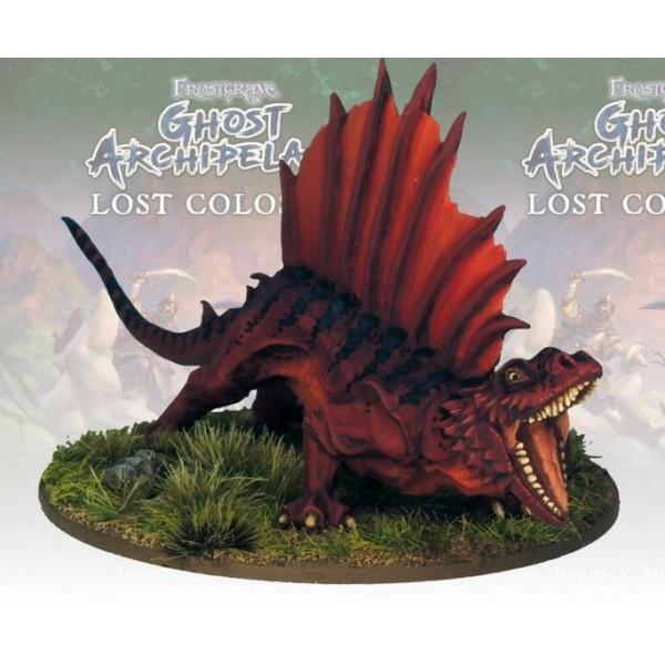 Frostgrave - Ghost Archipelago - Saurian Sailback