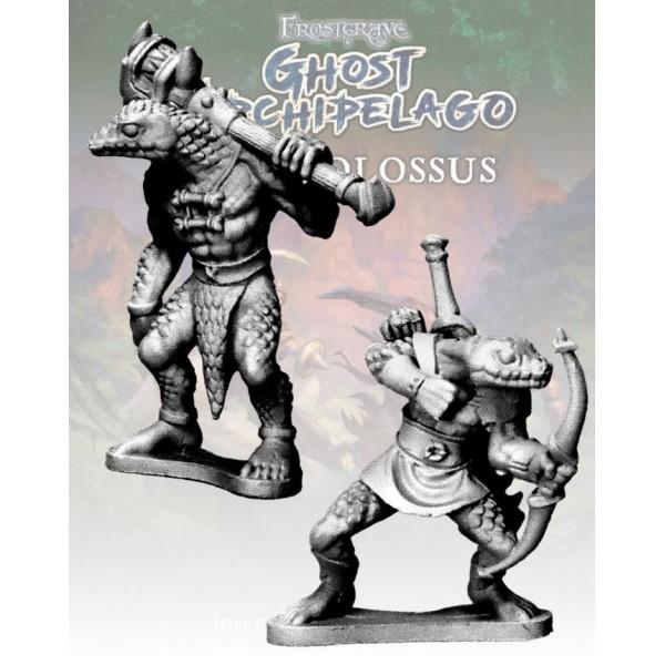 Frostgrave - Ghost Archipelago - Snake-man Savage and Hunter