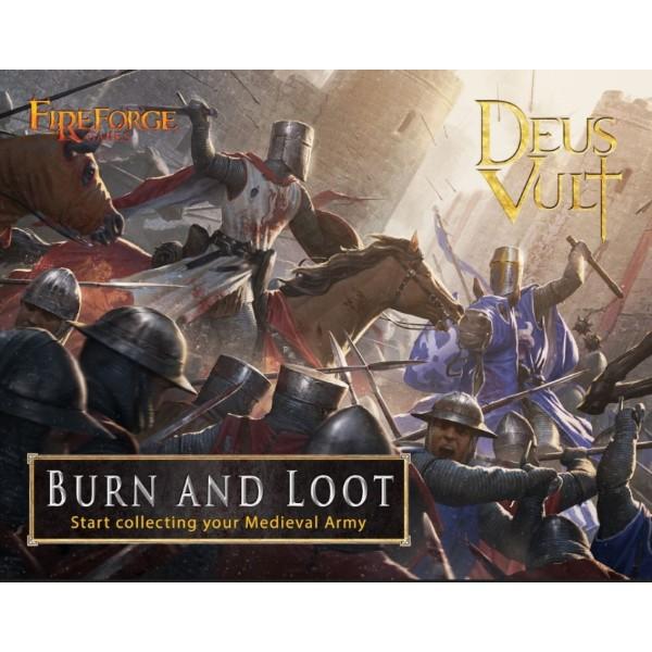 Fireforge Games - Deus Vult - Burn & Loot - Starter Set