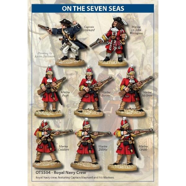 On the Seven Seas - Royal Navy Crew