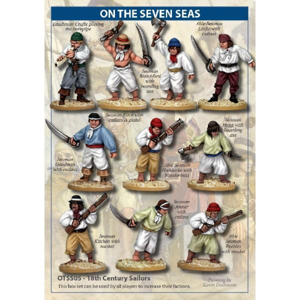 On the Seven Seas - 18th Century Sailors
