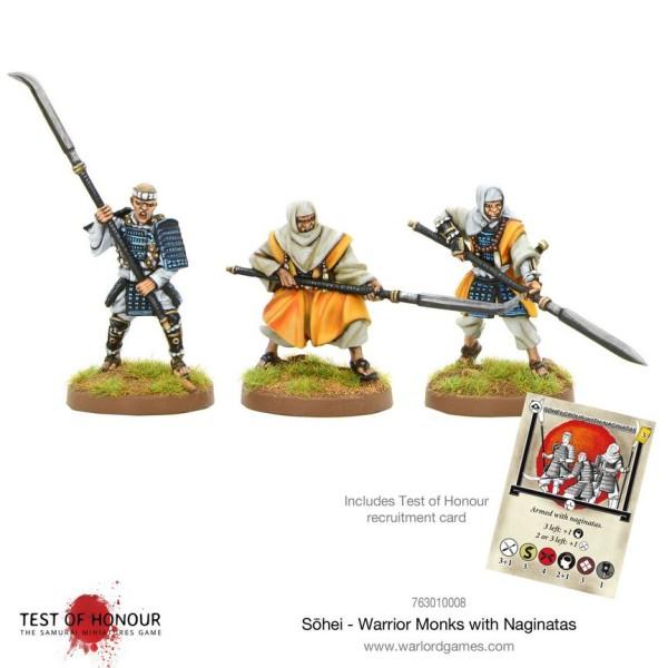 Test Of Honour - Sohei Warrior Monks with Naginata