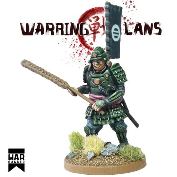 WarBanner - Samurai with Kanabō (large club)