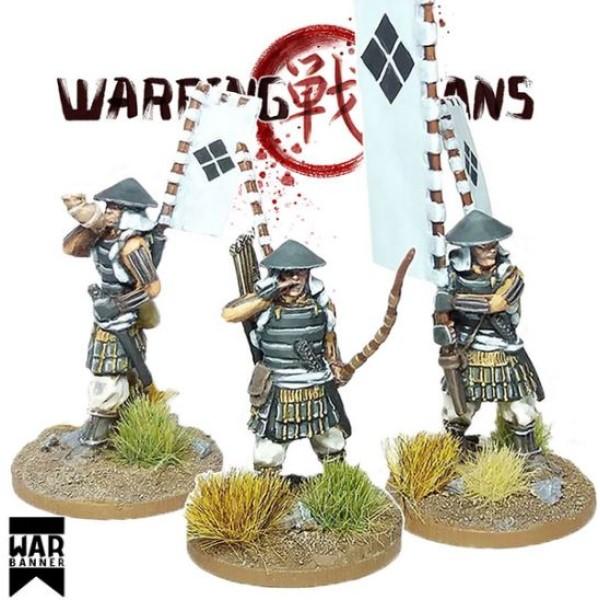 WarBanner - Ashigaru with Yumi (bow) Command