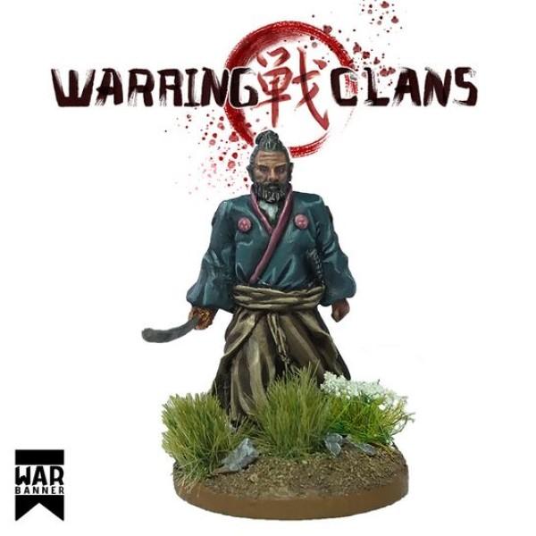 WarBanner - Walking Samurai with Katana (Sword)