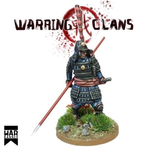 WarBanner - Samurai Full Armour with Yari (spear)