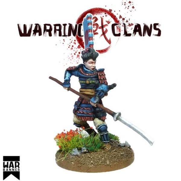 WarBanner - Female Warrior Onna-Bugeisha