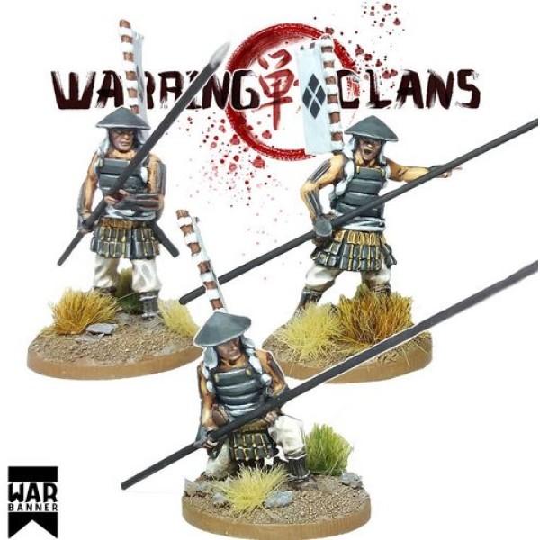 WarBanner - Ashigaru with Yari (spear) 1