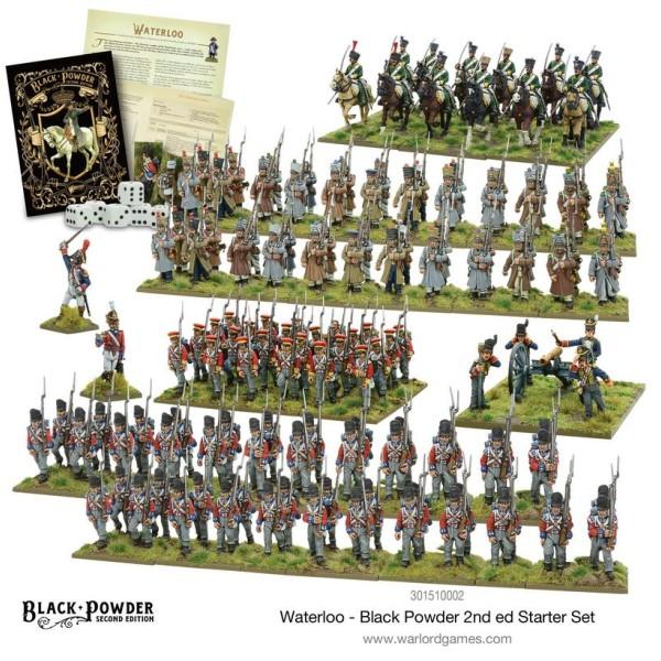 Warlord Games - Black Powder 2nd Edition - Waterloo Starter Set