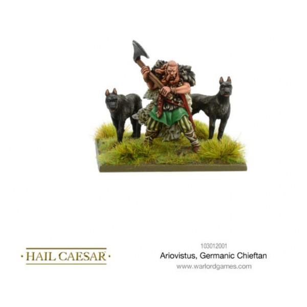 Warlord Games - Ancient Germania - Ariovistus Germanic Chieftan