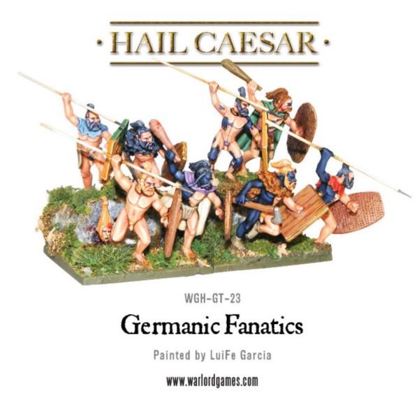 Warlord Games - Ancient Germania - Fanatics
