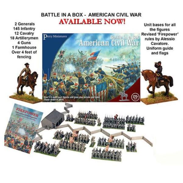 Perry Miniatures - American Civil War - Battle Set