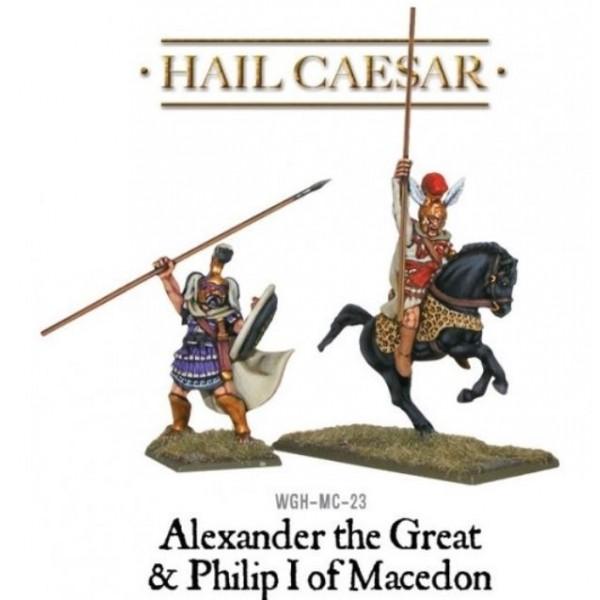 Warlord Games - Ancient Macedonian: Alexander the Great & Philip I of Macedon