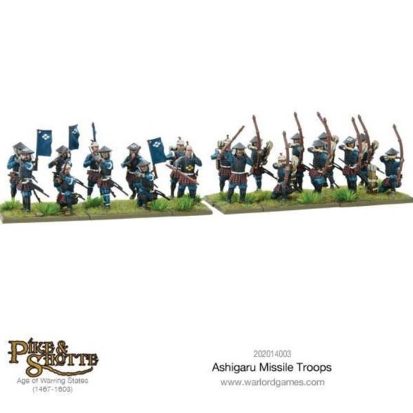 Warlord Games - Ashigaru Missile Troops