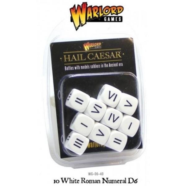 Warlord Games - Hail Caesar: Roman Numeral Dice Set
