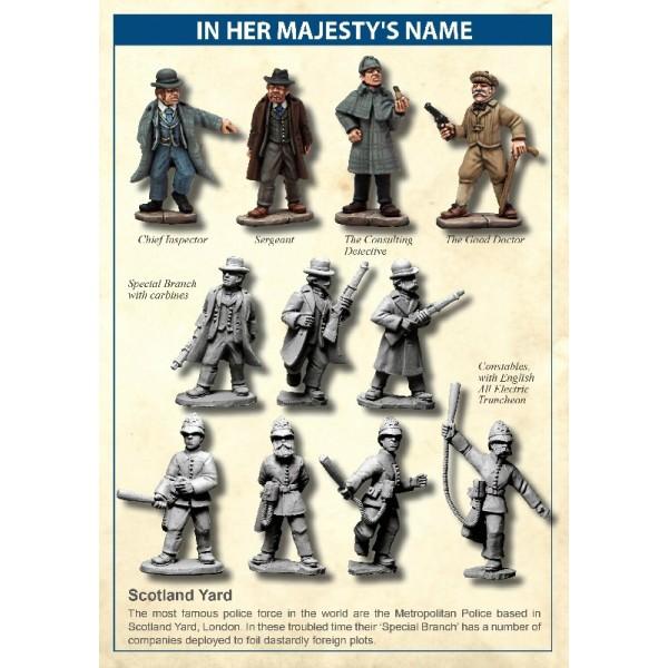 In Her Majesty's Name -  Scotland Yard Company