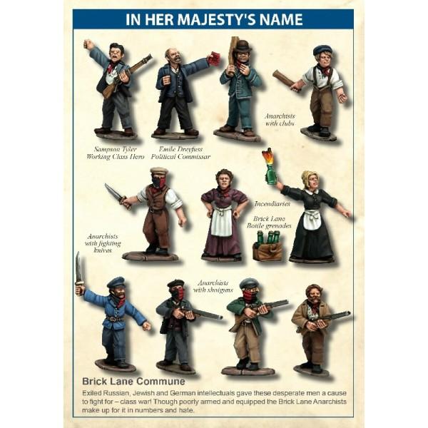 In Her Majesty's Name - Brick Lane Commune