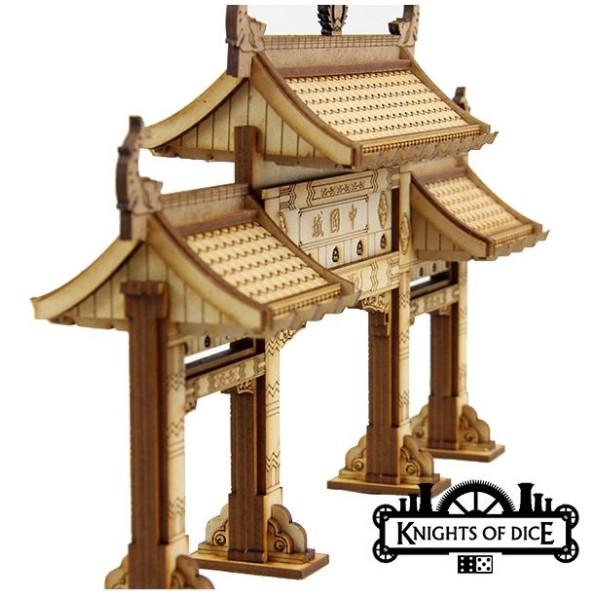 Knights of Dice - Sentry City Chinatown - Chinatown Gate