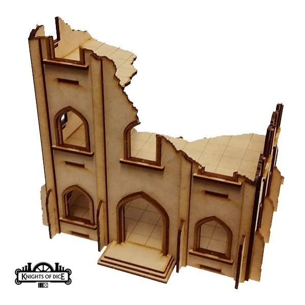 Knights of Dice - Tabula Rasa - Ruined Gothic Building 4