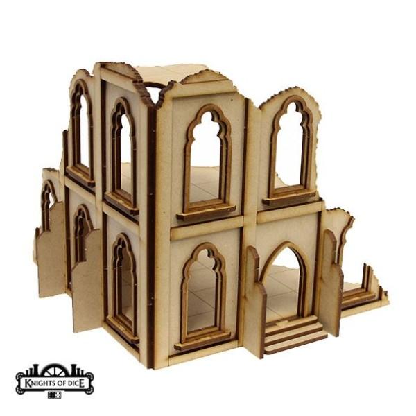 Knights of Dice - Tabula Rasa - Ruined Gothic Building 6