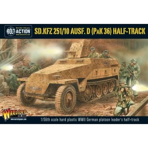Bolt Action - Germany Sd.Kfz 251/10 ausf D (37mm Pak) Half Track