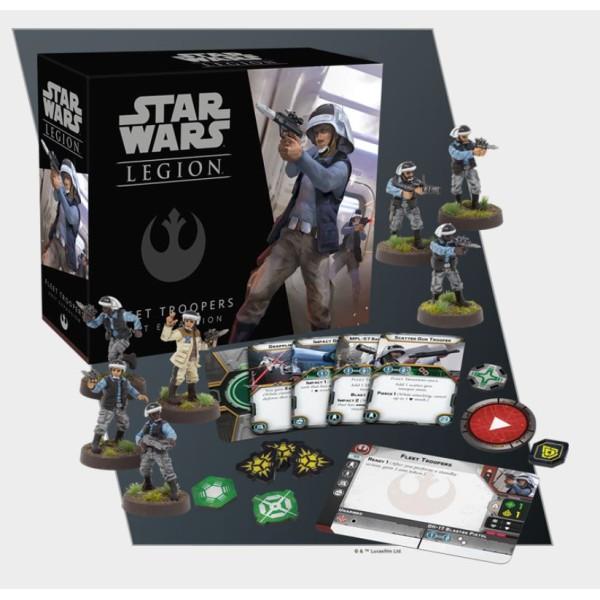 Star Wars - Legion Miniatures Game - Fleet Troopers Unit Expansion