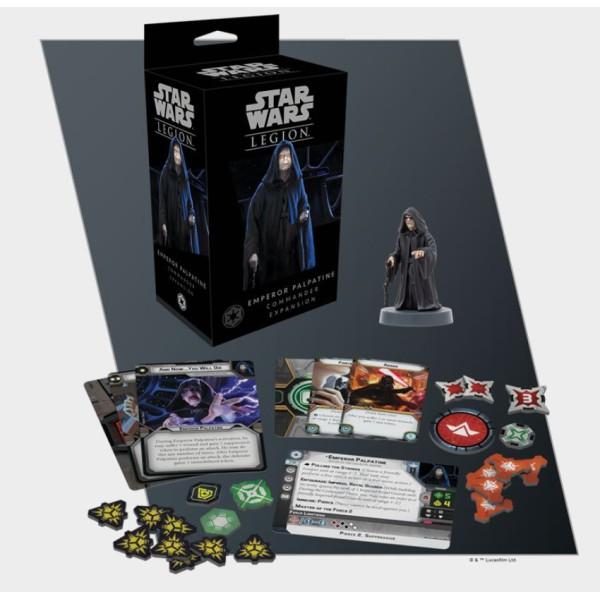 Star Wars - Legion Miniatures Game - Emperor Palpatine Commander Expansion