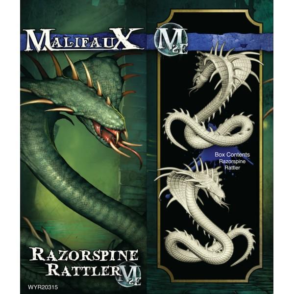 Malifaux - Arcanists - Razorspine Rattler
