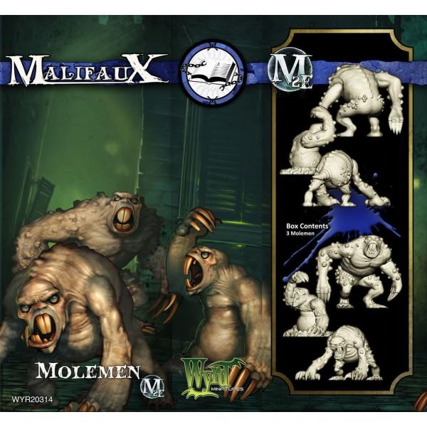 Malifaux - Arcanists - Molemen
