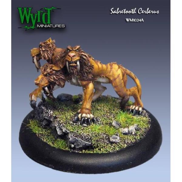 Malifaux - Arcanists - Sabertooth Cerberus