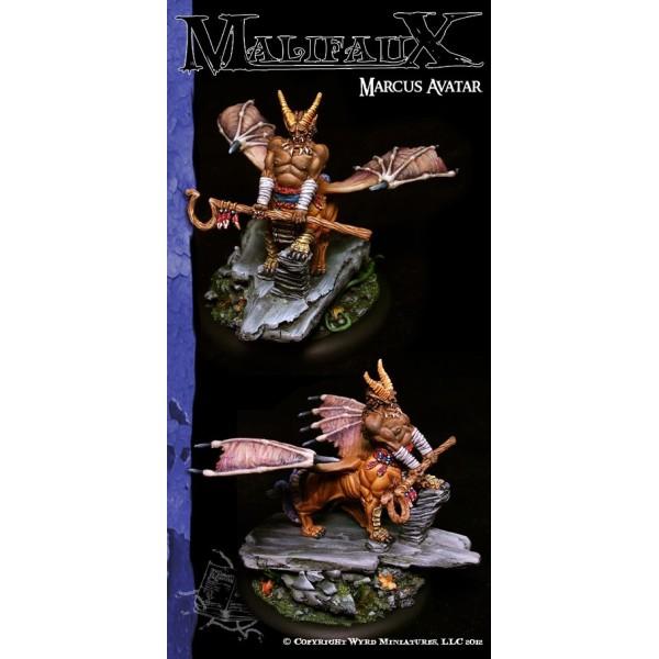 Malifaux - Arcanists - Marcus Avatar of Instinct