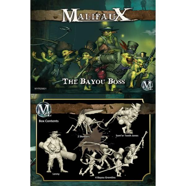 Malifaux - Gremlins - The Bayou Boss - Som'er Box Set