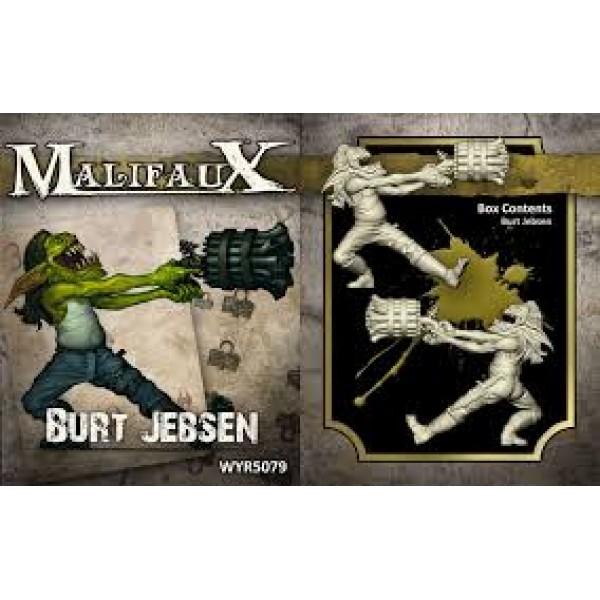 Malifaux - Gremlins - Burt Jebsen
