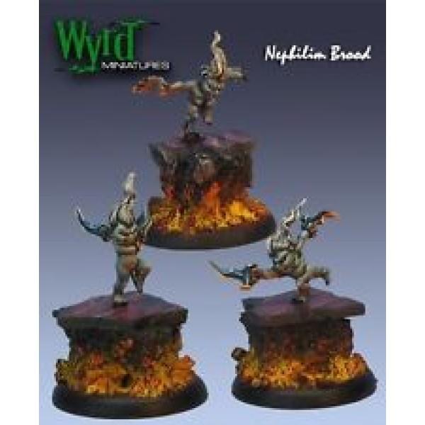 Malifaux - Neverborn - Terror Tot Nephilim Brood