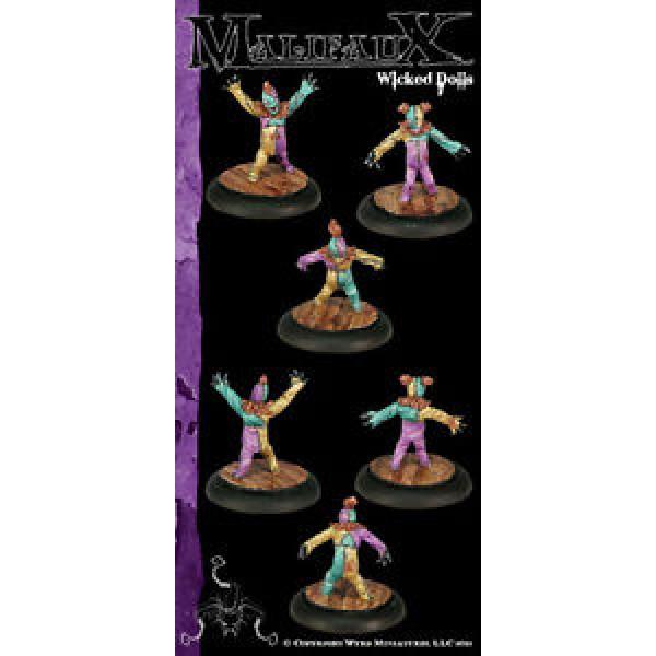 Malifaux - Neverborn - Wicked Dolls