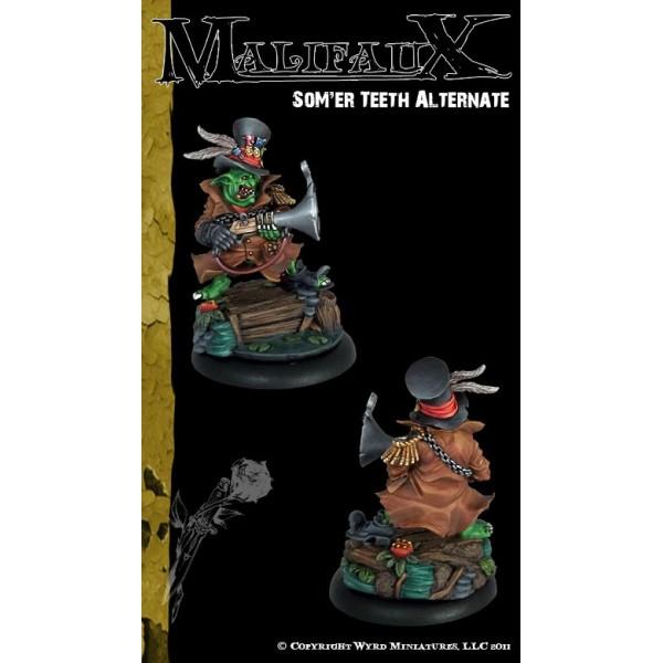 Malifaux - The Outcasts - Som'er Teeth Jones Alternate