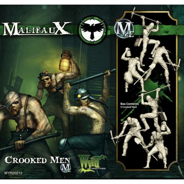 Malifaux - Resurrectionists - Crooked Men Boxed Set